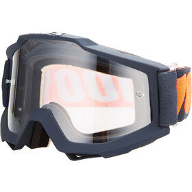 100% Accuri Anti Fog Clear Gafas enduro, gunmetal